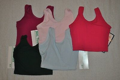 Nwt Bal Togs Child size Small, Unisex Dance  Tank Top-Cotton Lycra - Item # 1341