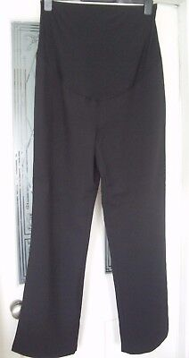 * New * Women's Black Maternity Trousers Size 12 By George