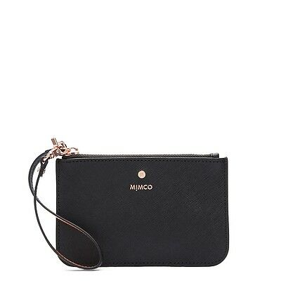 NEW STOCK! BNWT MIMCO SUPERMICRA POUCH BLACK  RRP79 -Express