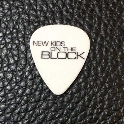 New Kids On The Block - Donnie Wahlburg - Real Tour Guitar Pick