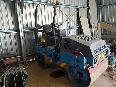 Bomag 2002 Twin Steel Drum Roller Bw 120 Ad-3