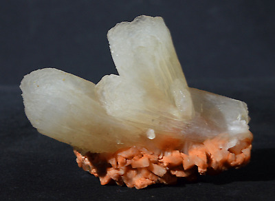 Beautiful Mineral Of Stilbite With Heulandite Matrix # N 128