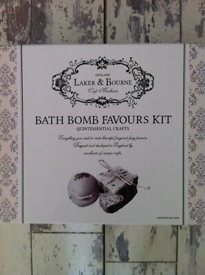 Bath Bomb Favours Craft Kit By Laker & Bourne