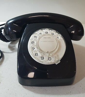 Original Black Dial Telephone, TELECOM 802 AWA 79 S1/236