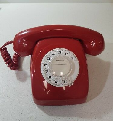 Original Red Dial Telephone, PMG 802 S1/234  STC 74