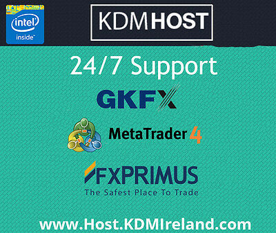 Windows VPS | MetaTrader | GKFX | Primus | 2GB, 4GB | Virtual Private Server