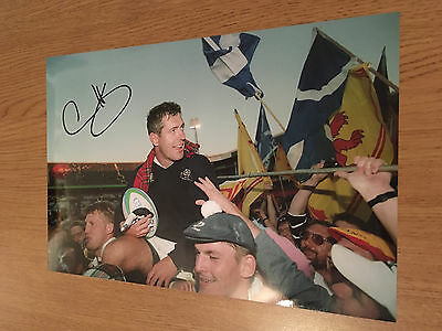 Gavin Hastings Scotland Rugby Union Legend 12X8 Authentic Hand Signed Photo