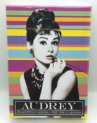 Audrey Hepburn Playing Cards Brand New, Factory Sealed Radio Days
