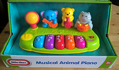 Little Tikes Musical Animal Piano NEW IN BOX toy