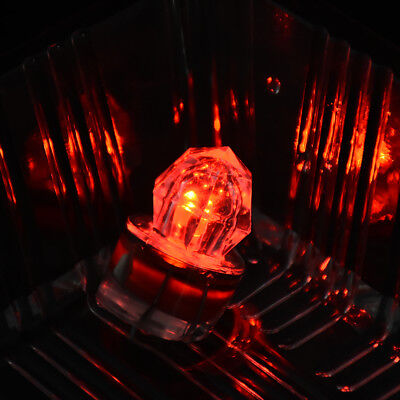 LED Deep Drop Underwater Diamond Flash Fishing Light Squid Strobe Bait Lure