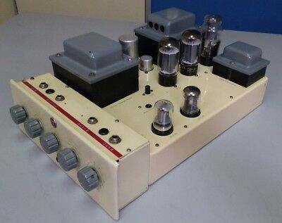 Vintage PYE PF91 Mono tube Amplifier complete with  PF91A Preamp NO RESERVE
