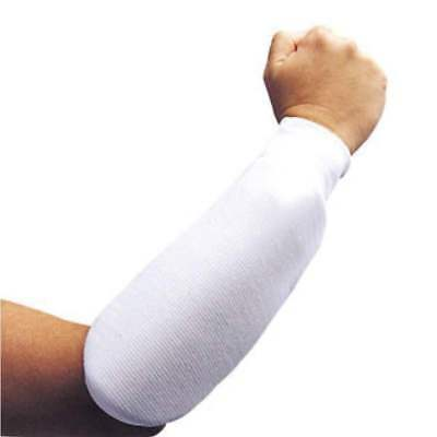 NEW Cloth Arm Protector - WHITE Karate Martial Arts Cloth Forearm Guards Pads