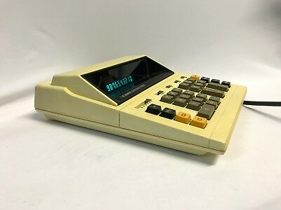 Vintage Canon Conola L1218 Electronic Calculator Made In Japan