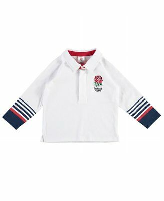England RFU Rugby Baby Rugby Shirt | 6 Nations | 2017/18 Season