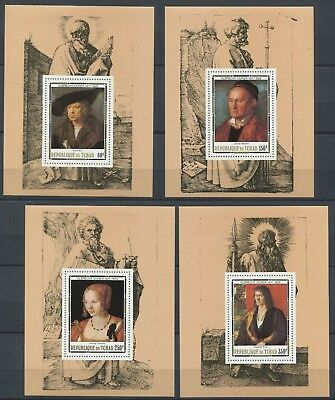 OD 4980. Chad. Art. Painting. Durer. MNH.
