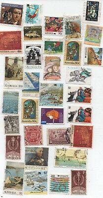 Stamps-Australian High Values-Mixed Lot