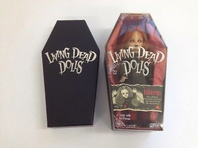 Living Dead Dolls - Inferno Mint Sealed in Coffin Box #99932 (Box 22_530)