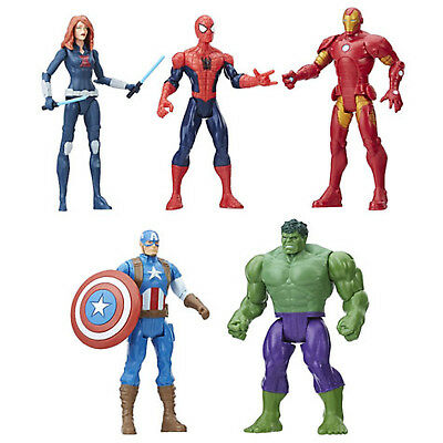 "6"" (15.2 cm) Marvel Superheroes Assortment - 5 Pack - Marvel Heroes (4+ Years)"