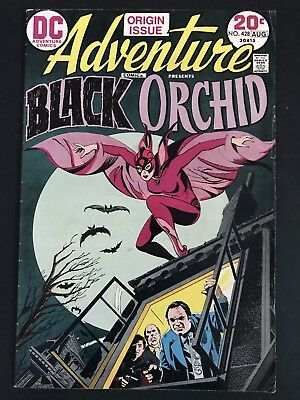 Adventure Comics #428 Origin & 1St Appearance Of The Black Orchid Fn