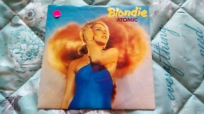 "blondie 7"" single "" atomic"""