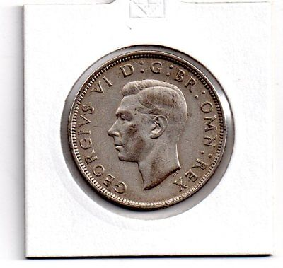george vi, silver half crown