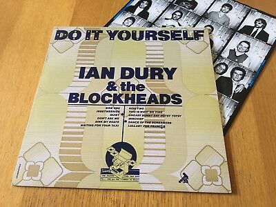 Ian Dury & The Blockheads - Do It Yourself - 1979 Lp With Inner - Sleeve Mint!!
