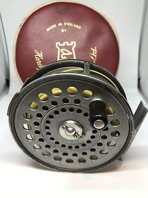 Hardy St Aiden Reel With Red Hardy Case