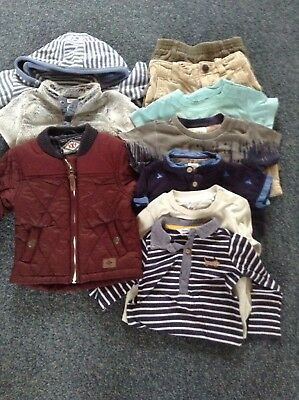 Boys 6-9 Months Autumn Bundle John Lewis, Next, Diesel, Baker Baby, Baby Gap...