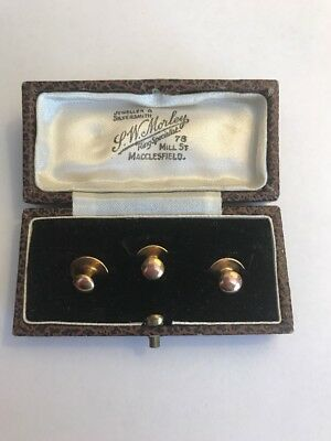 9ct Gold Shirt Studs
