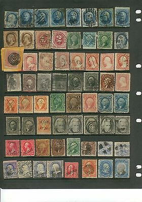 Collection Of Usa Stamps