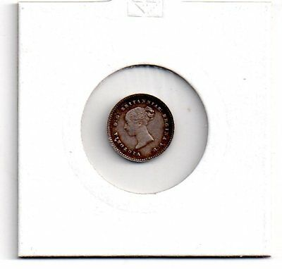 victoria, silver maundy two pence