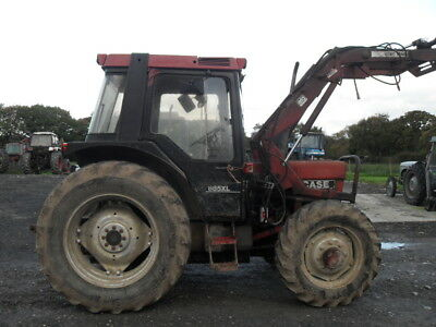 Case 885XL 4WD & Quicke Loader - BREAKING FOR SPARES