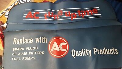 AC delco Fender Mat Cover Quality Products Spark Plugs Tune Up time