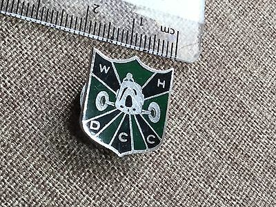 Vintage West Hampshire District Car Club Badge  By Bham Medal And Badge Co LTD