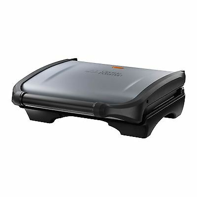 George Foreman 19920 Electric 5 Portion Family Grill Panini Sandwich Maker New
