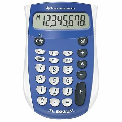 Texas Instruments Battery Pocket Calculator with Large Display New