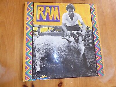PAUL and LINDA McCARTNEY  LP   RAM  VINYL  EARLY  APPLE