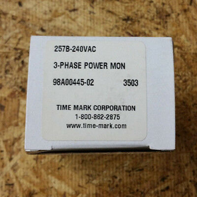 Time Mark Corporation 3-Phase Monitor Model 257B