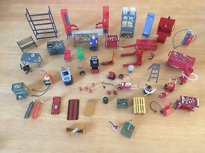 A Collection Of Tools And Equipment For Scalextric/ninco/fly/carrera Etc