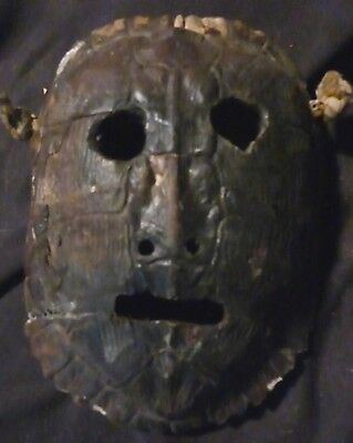 orig $399- RITUAL NEPAL/TIBET MASK, REAL EARLY 1900S 12""
