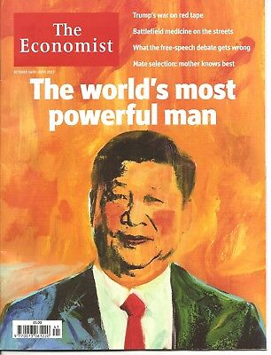 The Economist 14th - 20th October 2017 Economics & Current Affairs Weekly