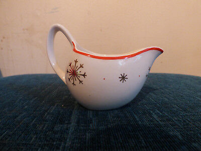 Midwinter Stylecraft Milk Jug - Starlight - Jessie Tait - Vintage - Christmas