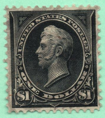 One Penny Sale / #276 / One Dollar in 1895 / Fine Centering / Early US Stamp
