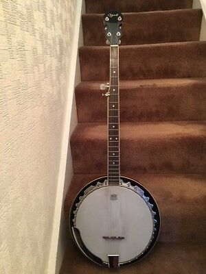 Ozark 5 string Resonator banjo, she was my first, great action, excellent play