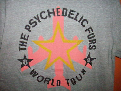 The Psychedelic Furs world tour 1984 shirt LG