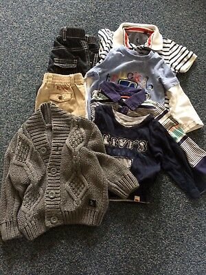 Boys 9-12 Months autumn Bundle, Esprit, Ralph Lauren, Levi's, Next...