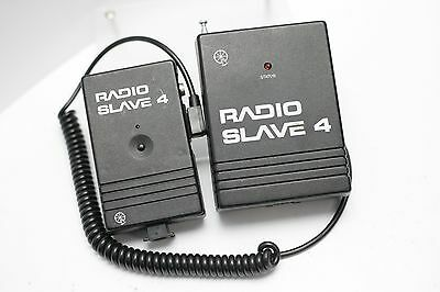 Quantum Radio Slave 4 Studio Flash Unit Sender & Remote Unit - Untested