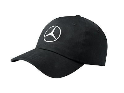 Mercedes-Benz Black Baseball Cap