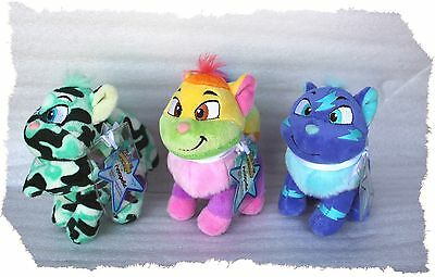 Lot of Neopets Camouflage Rainbow Electric Wocky Set Keyquest Code Virtual Prize