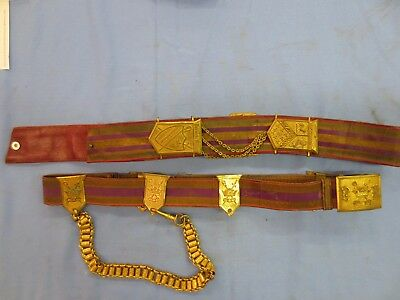PATRIARCHS MILITANT SWORD BELT & Shoulder Belt